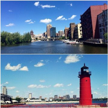 Pictures of Some of the sites from our 2015 Milwaukee Cruise