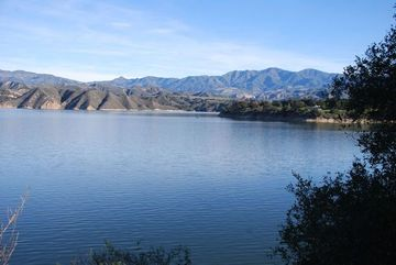 Cachuma lake hike on the sweetwater trail santa ynez ca for Lake cachuma fishing report