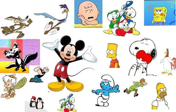 Tv Cartoon Characters ...