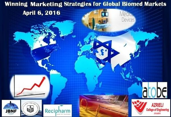 Key executives from leading Israeli BioMed companies presented their successfully proven marketing approaches within some of the different territories