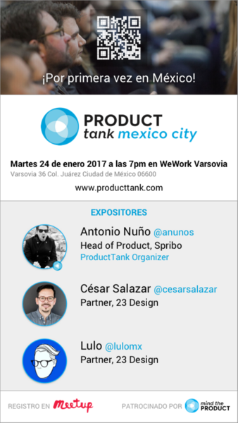 Primer ProductTank Mexico City