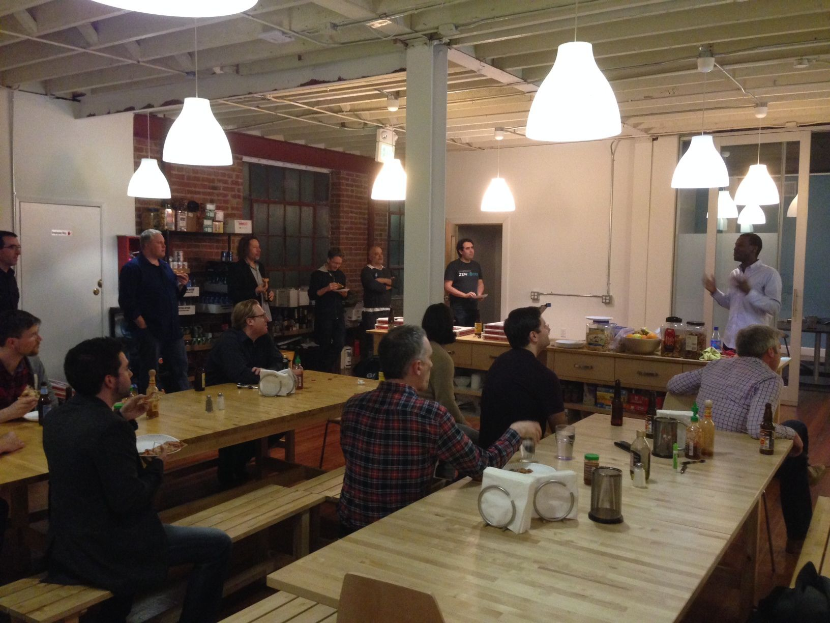 January 2014 Meetup: Robert Scott presentation