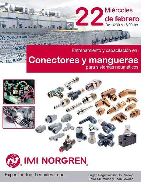 Entrenamiento y capacitación en conectores y mangueras para sistemas neumáticos