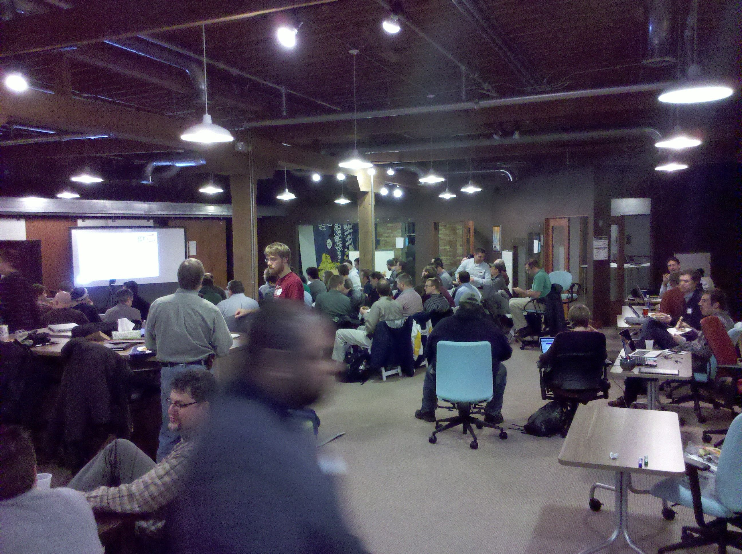 A Bustling GRWebDev Meeting