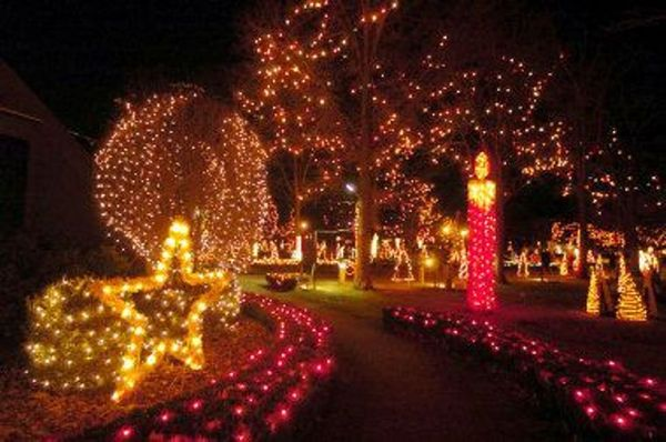 Lasalette Christmas Lights