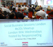 Combined Social Business Session - London #e20s - 1 October