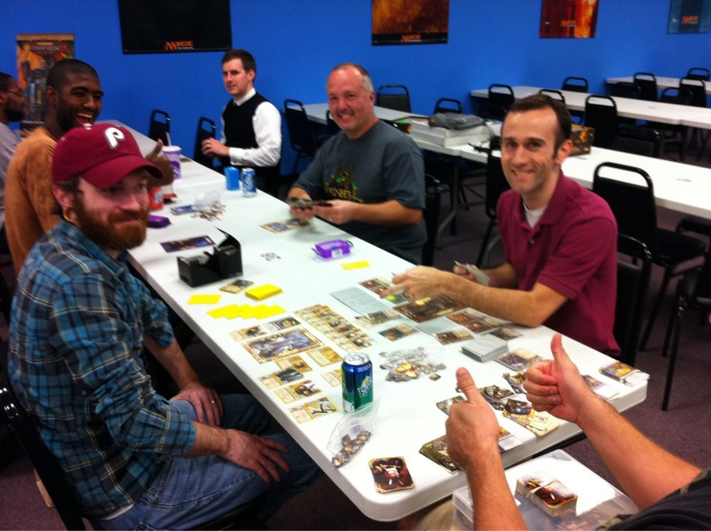 Louisville Warhammer Invasion League and  Board Game Group