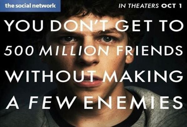 Saturday Night Movie: The Social Network @DelrayTechSpace October 17th at 7pm