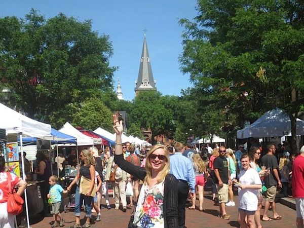 first sunday arts festival in annapolis   second half rally   active
