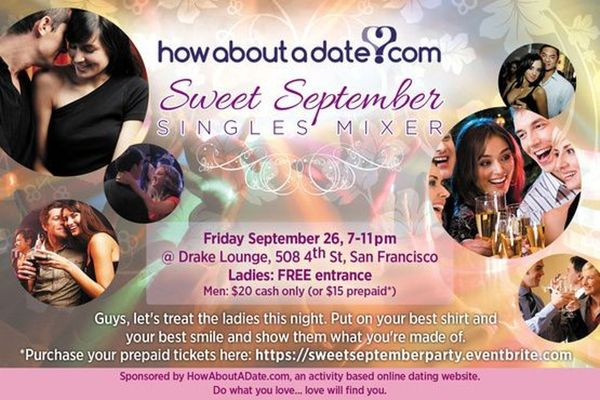 HowAboutADate.com Sweet September Singles Mixer