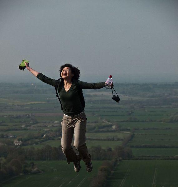 Amo jumping by Alok