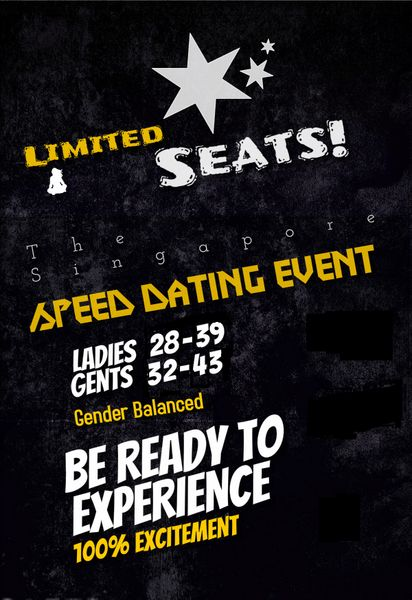 speed dating singapore 2015