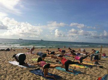 OKLAHOMA TORNADO RELIEF & Ft. Lauderdale Beach Yoga by