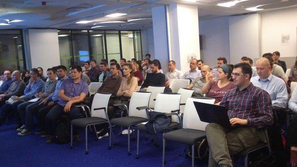 BJUG Audience at Java 8 presentation