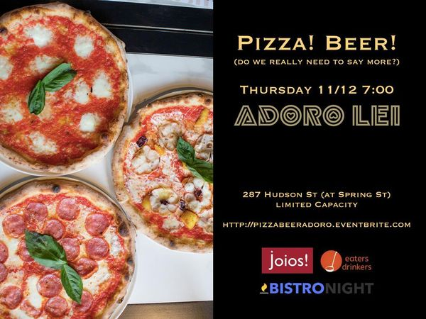 Pizza! Beer! A Tasting Party!