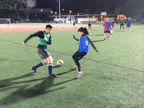 Monday 8v8 Coed pickup game Kimbell Field Geary at Steiner