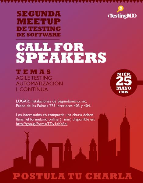 2da meetup de testing de software - Mexico DF