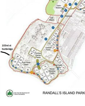 NY , Spring 11 a-side Division - NY Soccer Meetup (Brooklyn ... Randalls Island Field Map on