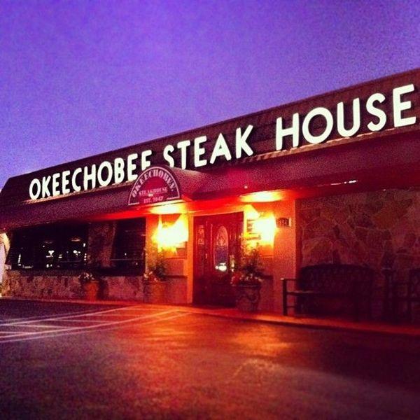 Lets Celebrate With OKEECHOBEE STEAKHOUSE W/DRINKS
