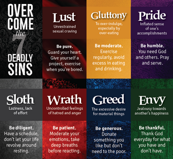 VDAY: The 7 Deadly Sins Social