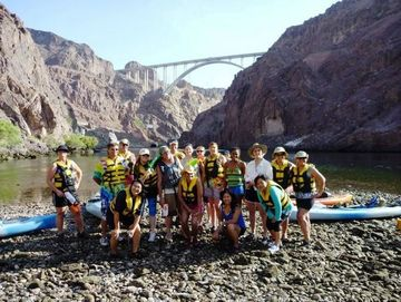 may black canyon kayak adventure | filipinos & friends of