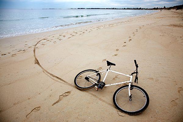 TORRANCE TO REDONDO BEACH , MANHATTAN BEACH Bicycle Ride ...