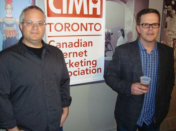 Brian Rotsztein, David Shephard of Jib Strategic Advertising in Toronto