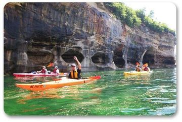 July Kayaking At Pictured Rock New Cabin Lower Price Ann Arbor Adventure Club Ann Arbor