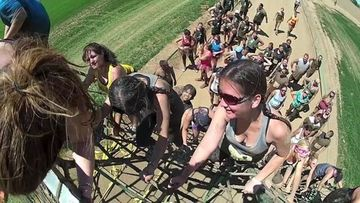 Survivor mud run rancho murieta 95683 ca for Dirty foot mud ranch