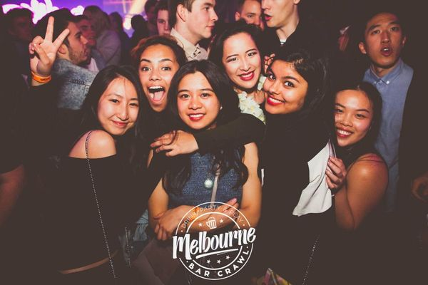 Melbourne Bar Crawl     discount Meetup Members    Newbies      The Ultimate Melbourne Clubbing Experience
