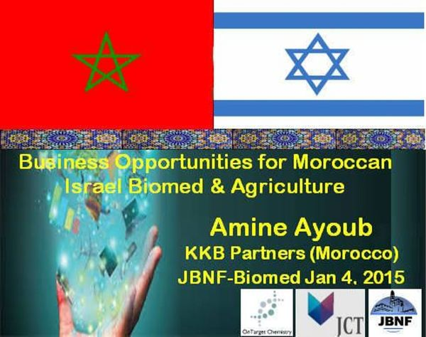 Opportunities for Israeli Biomed and Agricultural Business in Morocco Presented by Amine Ayoub